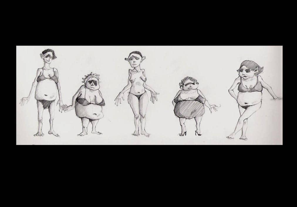 disegni-mostri-umani-al-mare-2-1996-copia